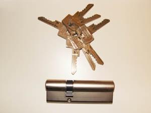 Sicherheitsschloss - Einsteckschloss