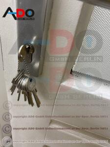 Türöffnung mit Schlagschlüssel